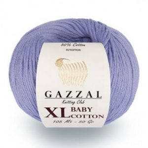 пряжа gazzal baby cotton xl