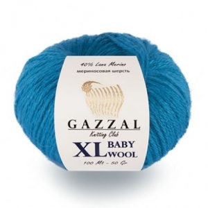 пряжа gazzal baby wool xl