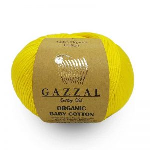 пряжа Gazzal Organic Cotton